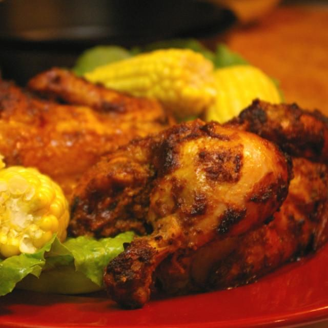 This great rotisserie chicken recipe became hugely popular along the East Coast of the United States a few years back. Know as Super Chicken, El Pollo Rico, or Peruvian Chicken this is a tasty way to make a bird with enough flavor to satisfy anyone, but mild enough for everyone.