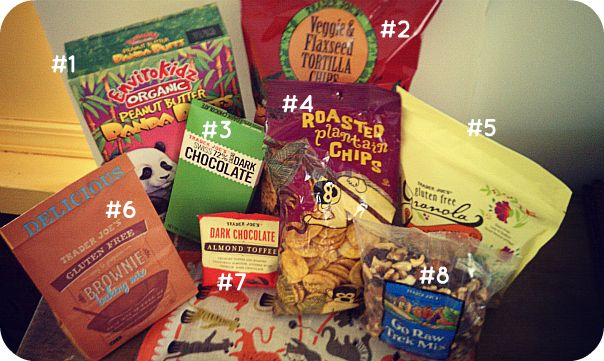 Trader Joe's Gluten Free Shopping List (healthy / easy snack foods)
