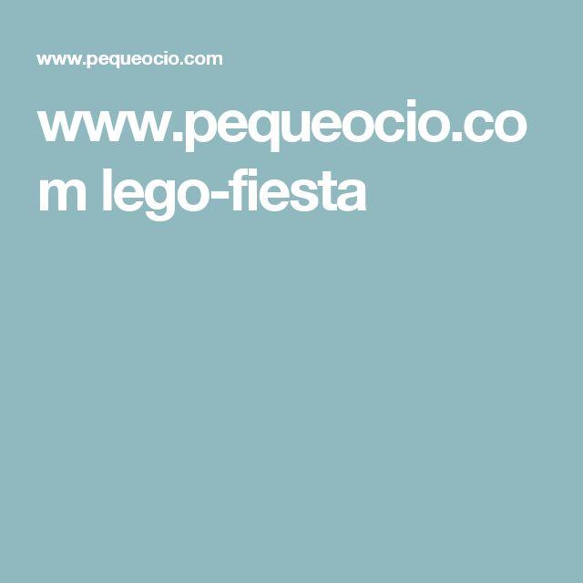 www.pequeocio.com lego-fiesta