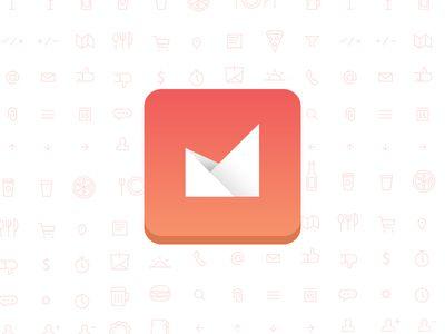 Dribbble - App Branding by Bill S Kenney