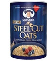 Quaker Steel Cut Oats  Love, love, love Steel Cut Oats!  I especially love to mix a packet of flavored Quaker instant oatmeal into a hearty serving of Steel Cut Oats.  Once mixed together, I divide it into two portions - one for that breakfast, the other for the next morning.  Have to admit that the second portion has occasionally become my dinner for the same day -- just couldn't make it all the way to breakfast.    Best tasty complex carb!!!    #YAYOATS