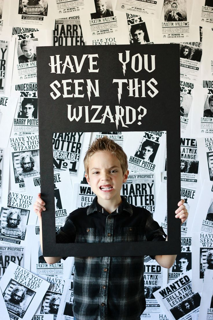 Harry Potter Photo Booth with Props