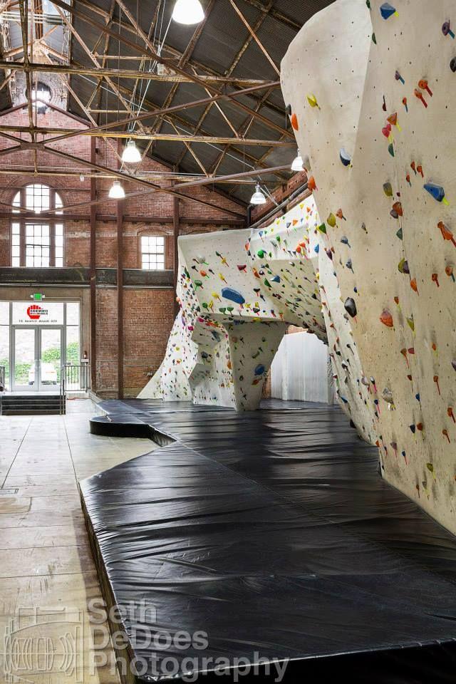 Stronghold Climbing Gym Rock Climbing WallsIndoor