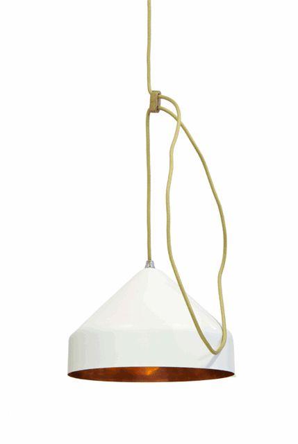 Lloop lamp copper white - Ontwerplabel Vij5 - BijzonderMOOI* Dutch design online