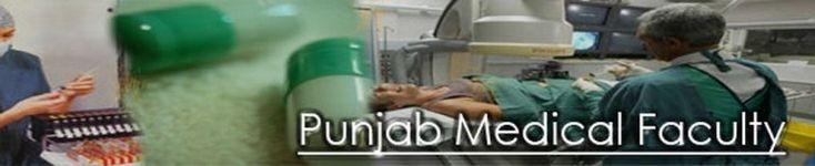 punjab medical faculty Lahore Supply examination 2014