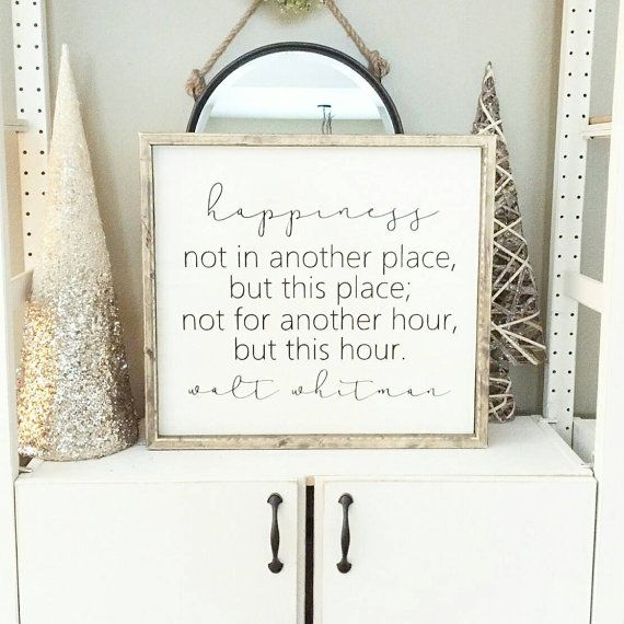 Home Signs, Day Date Ideas And Housewarming Gifts