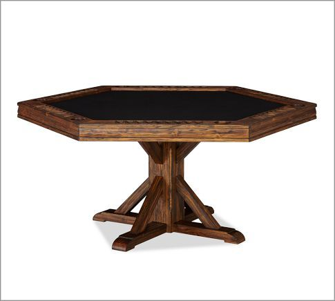 Poker Table Pottery Barn Things I Want Pinterest