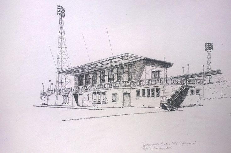 """Stadion """"Het Diekman"""" Enschede, Holland"""