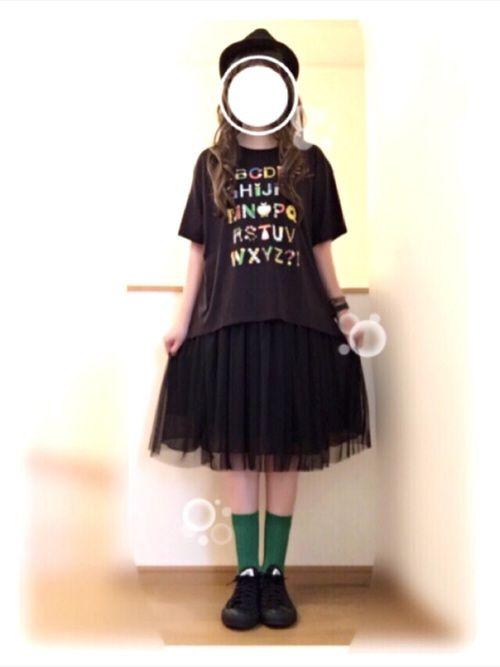 しょいらすさんのUTシャツで ☻ Tシャツのデザイン本当にかわいいです (*´д`*)最後の🚩🎇