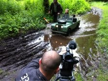 Simon capturing some great outdoors fun at Gleneagles Hotel, Scotland