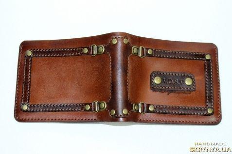 Купить Мужской кошелек ручной работы в Украине