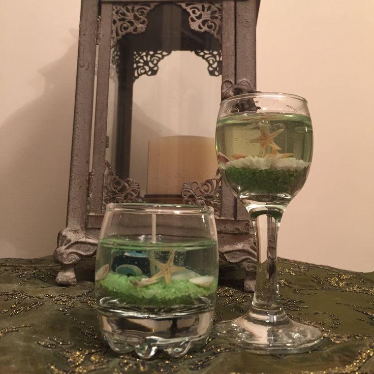 mum5 handmade candles green  instagram @mumisiklari