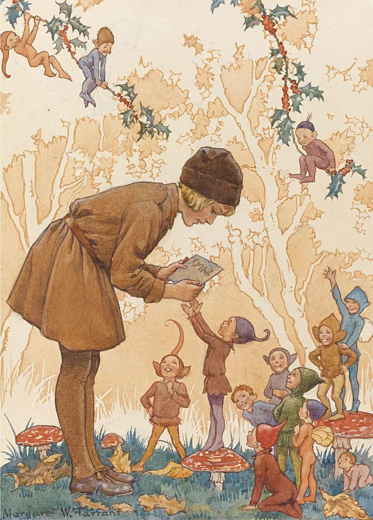 314 Best Art Of Margaret Tarrant Images On Pinterest