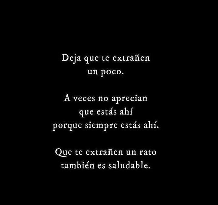 A veces ...