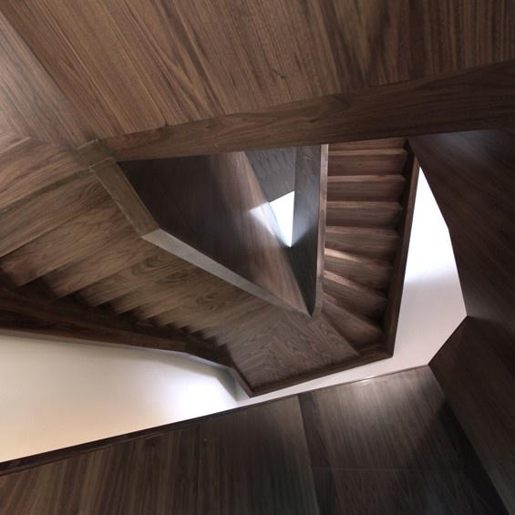 Transformation du Bastion Sainte Barbe  #architecture #interior #stairs