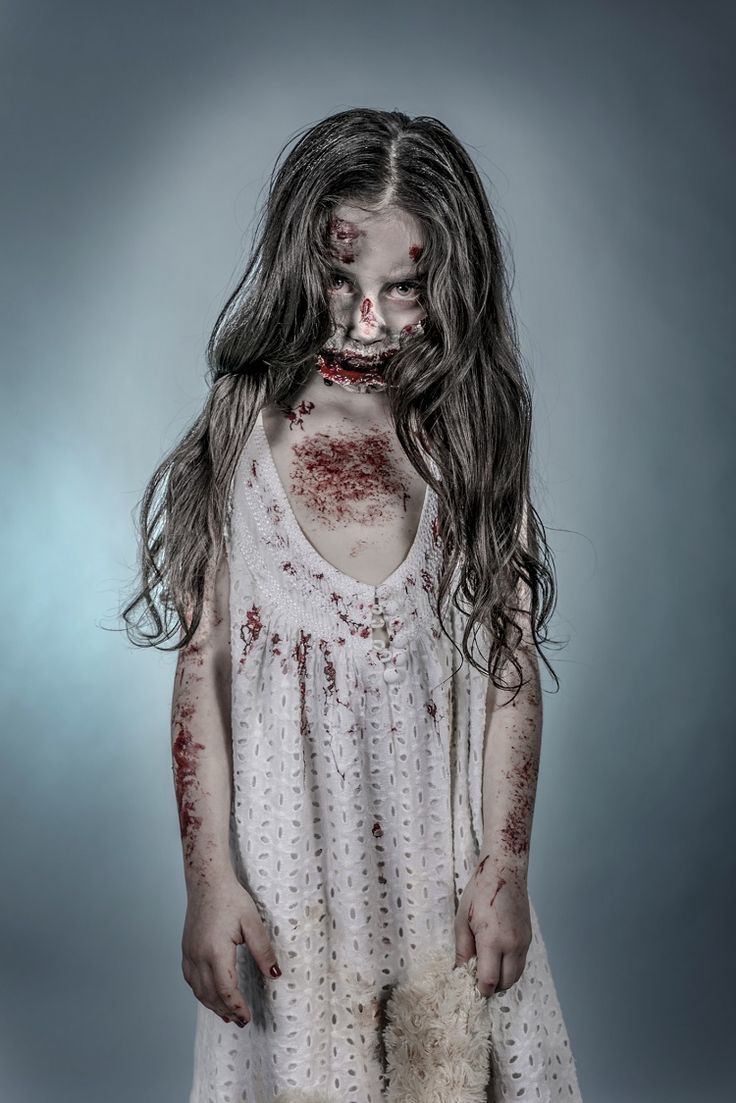 How to make a kid's zombie costume for Halloween.