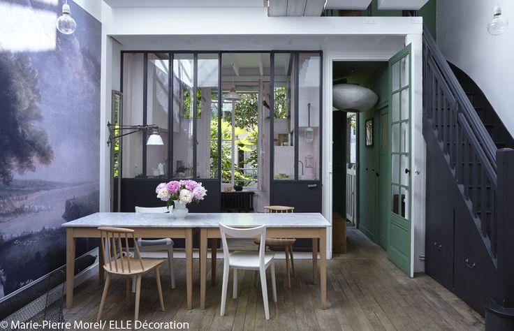 Les 37 meilleures images concernant verriere jardin sur for Cloison style usine