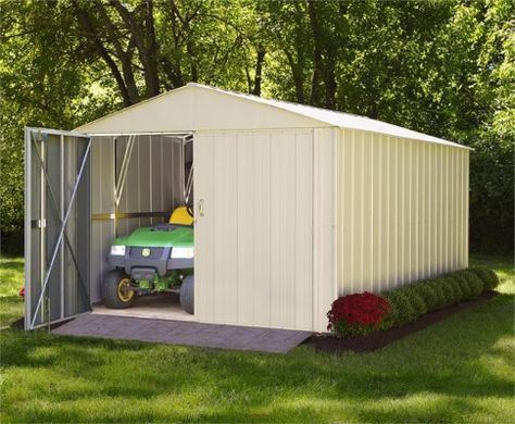 Arrow 10x20 Mountaineer Metal Storage Shed #StorageShedsOutlet
