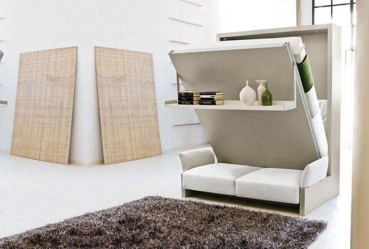 1000 id es propos de lits murphy superpos s sur pinterest petits lits et - Lit superpose petit espace ...