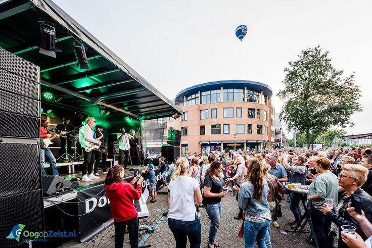 Optreden van Hans Dulfer en Band tijdens de 15de editie van het Dolders PopPodium bij Cafe de Eglantier in Den Dolder
