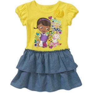 Disney+Baby+Girls'+Doc+McStuffins+Tee+Shirt+Dress