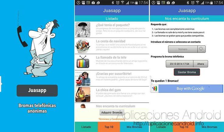 Juasapp - Divertente App di scherzi telefonici  #follower #daynews - http://www.keyforweb.it/juasapp-divertente-app-di-scherzi-telefonici/