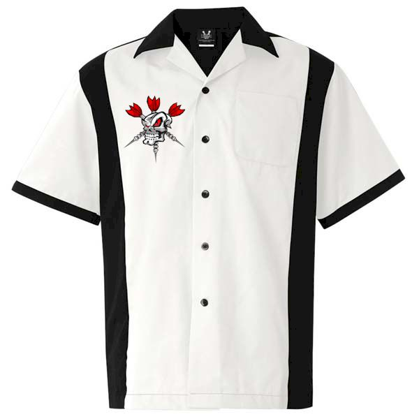 Darts button down shirt red eye eyes awesome and shirts for Awesome button down shirts