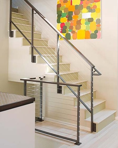 marin remodel modern staircase