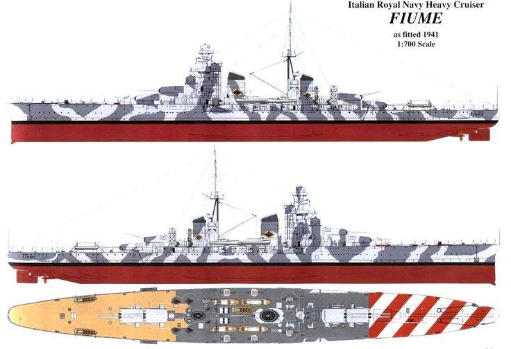 Regia Marina Fiume 1941