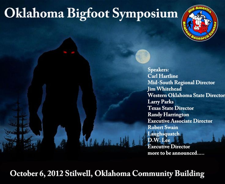 Bigfoot Festival Oklahoma In | Bigfoot Evidence: Want To Hear Ron Morehead and Scott Nelson Talk ...