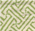 green quadrille fabric