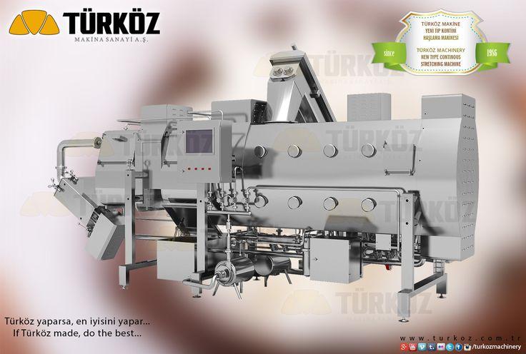 Türköz Machinery NEW TYPE CONTINOUS STRETCHING MACHINE