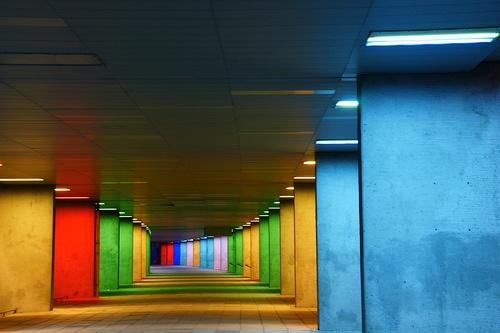 kleur in de architectuur, nai rotterdam