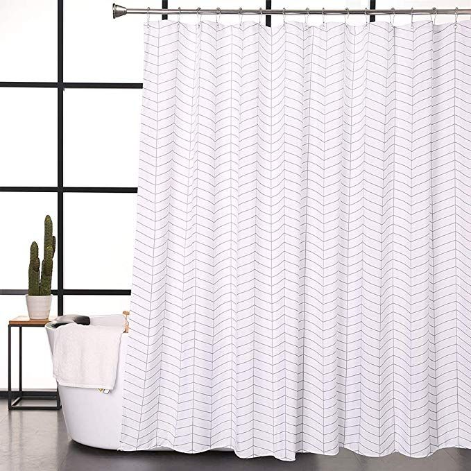 Amazon Com Aimjerry Hotel Quality White Striped Mold Resistant