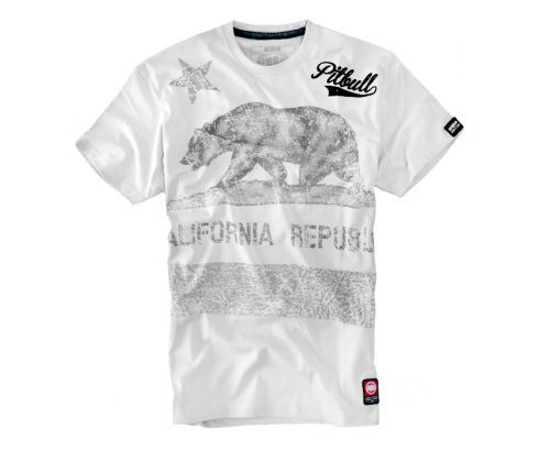 Koszulka California Flag koszulki pitbull west coast http://pitbull.pl/shop/t-shirts/koszulka-california-flag.html
