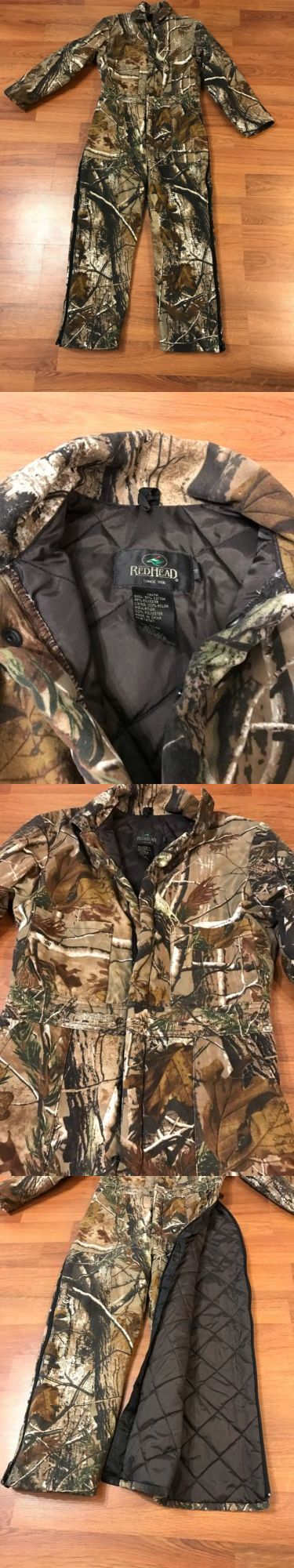 Coveralls 177869: Redhead Youth Size 14 Insulated Coveralls Real Tree New!!! Hunting Camouflage -> BUY IT NOW ONLY: $35 on eBay!