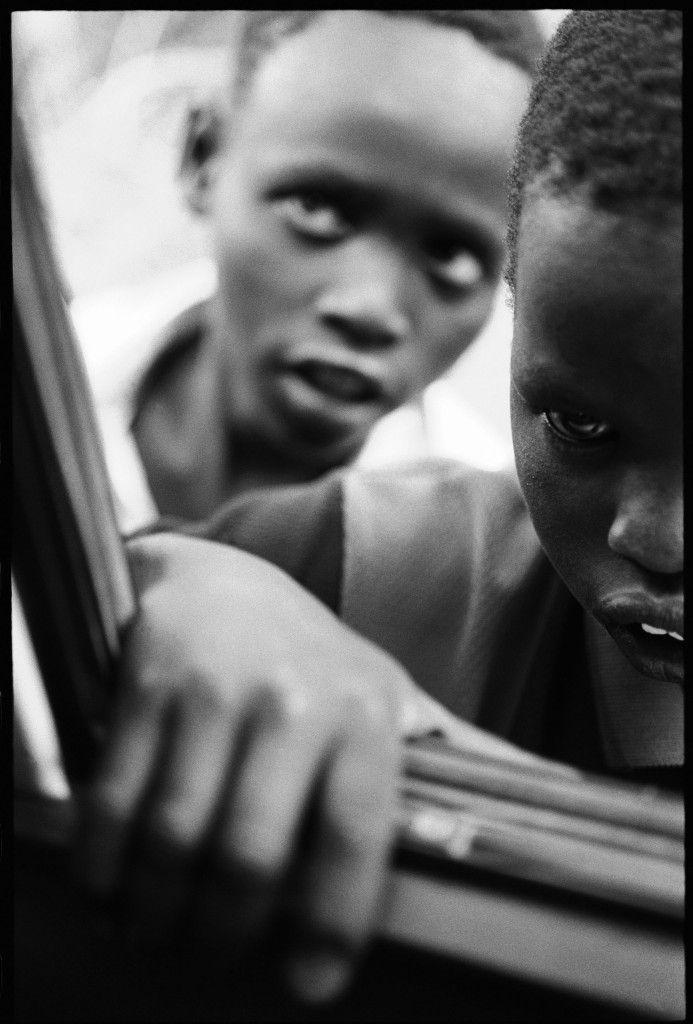 "Eli Reed. ""Kakuma Refugee Camp, Kenya."" August 2001, printed 2013. Inkjet print. © Eli Reed / Magnum Photos."