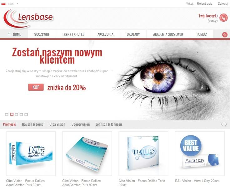 Zapraszamy do sklepu - www.lensbase.pl