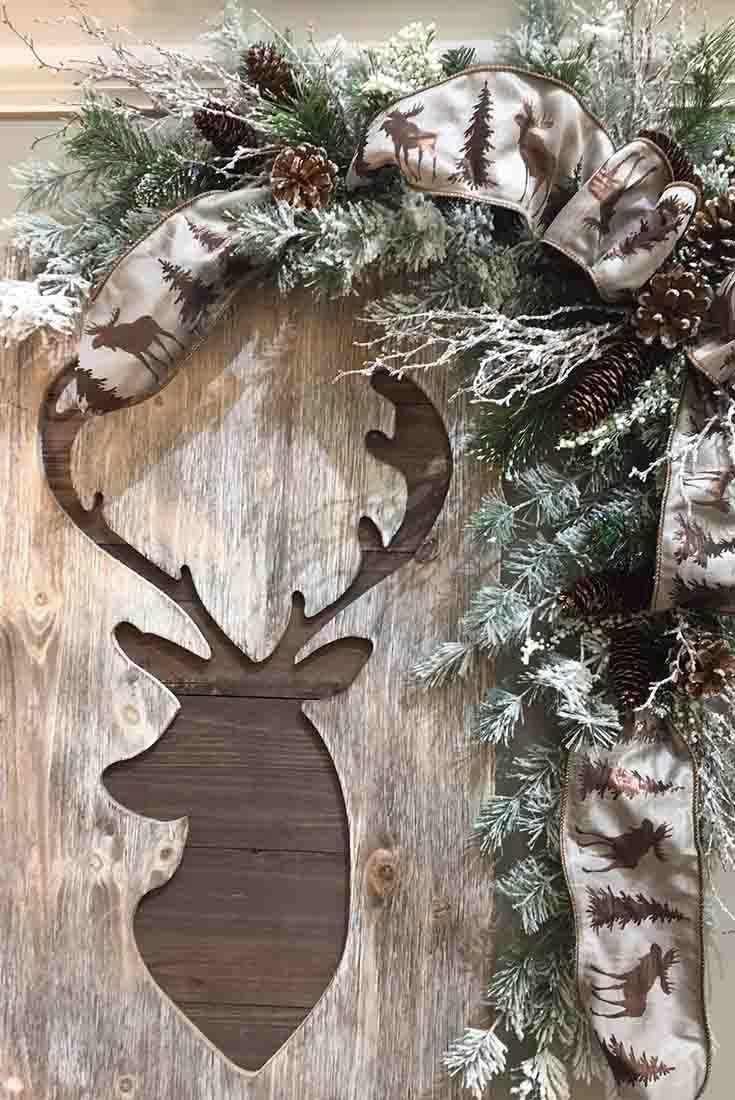 Deer Plaque @ Trees N Trends Www.treesntrends.com