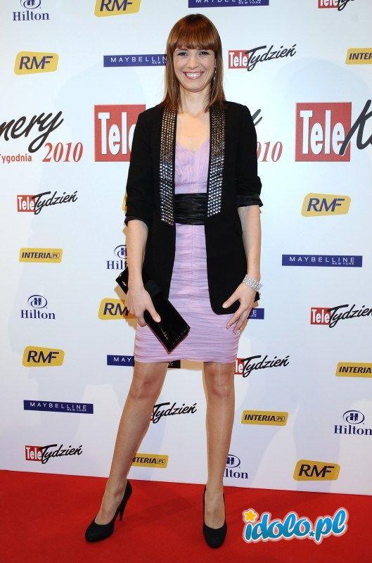 Paulina Chylewska - Telekamery 2010 - modowe wpadki gwiazd