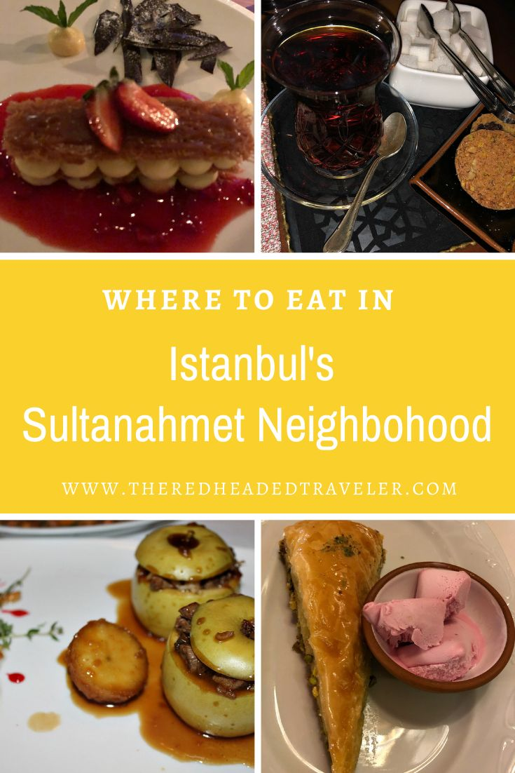 Where to eat in Istanbul's Sultanahmet neighborhood