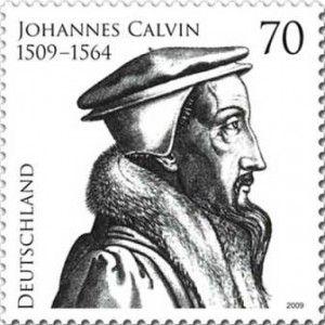 Briefmarke Johannes Calvin 2009