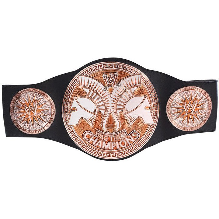 WWE Tag Team Championship Belt by Mattel