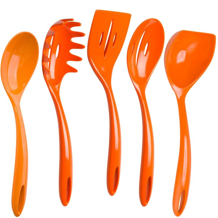1000 images about orange things on pinterest rubber for Kitchen set orange