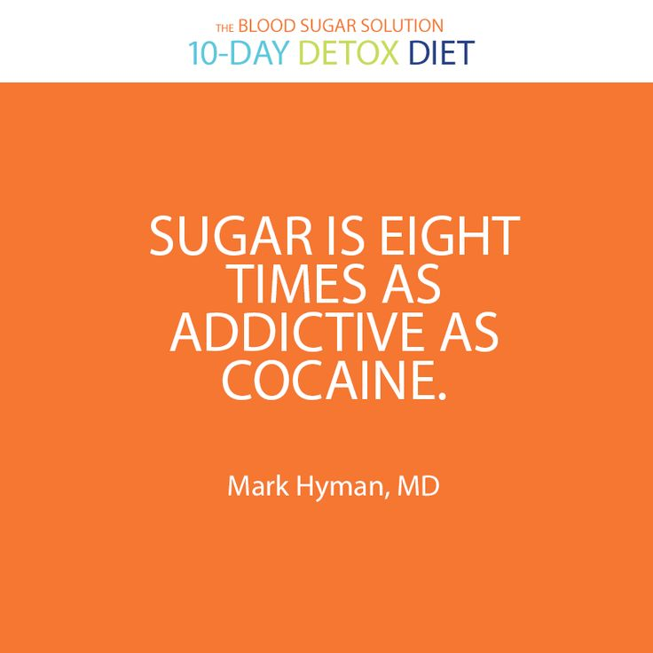 This is true. That's why it's so hard to stay on track. It is like coming off of a drug when you stop eating junk