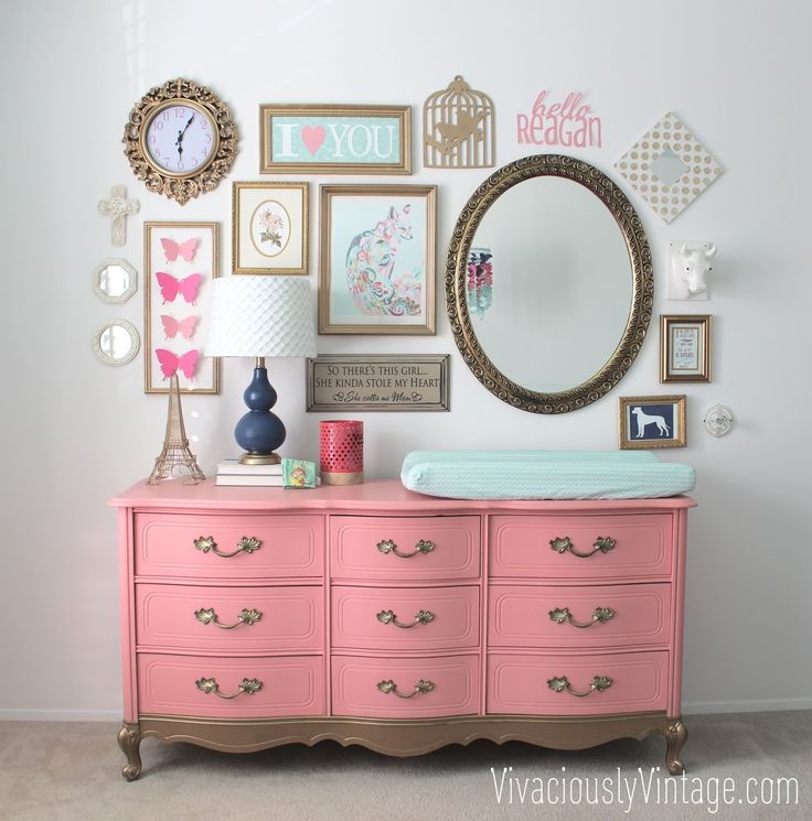 Crazy For CORAL Painted Furniture!