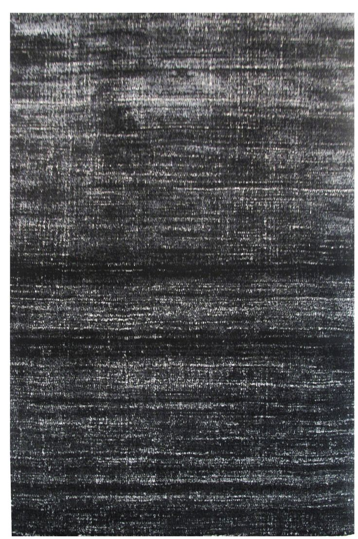 Aquarelle Black Area Rug