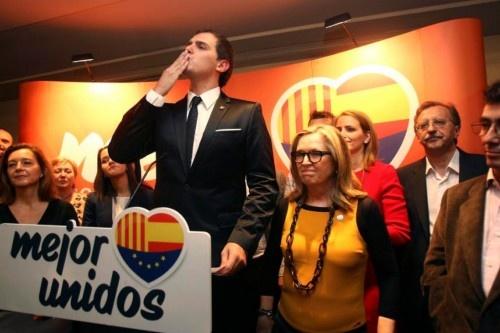 El partido de Albert Rivera triplicó su presencia en el Parlamento Catalán