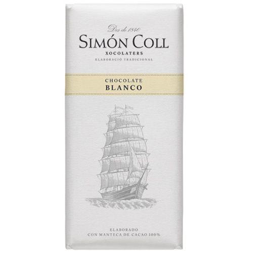Simon Coll 85g. Ciocolata alba FARA GLUTEN