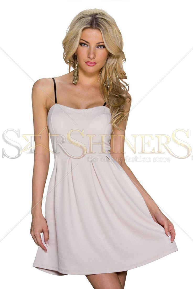 Stylish Bond Cream Dress